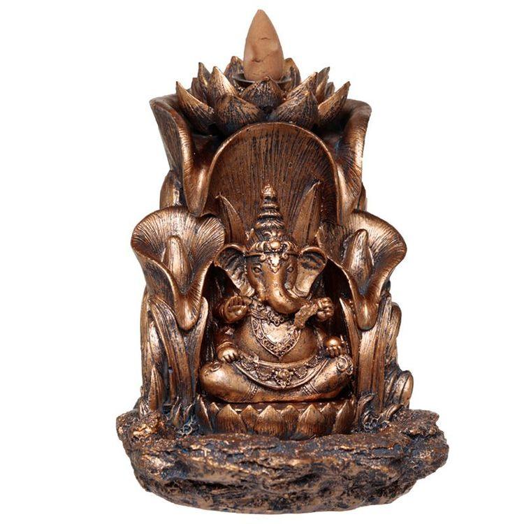 Ganesh Lotus Backflow, Backflow Rökelsebrännare
