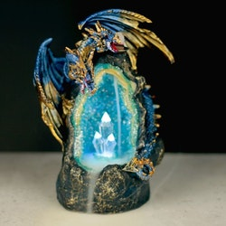 Dragon Crystal Cave LED, Backflow Rökelsebrännare