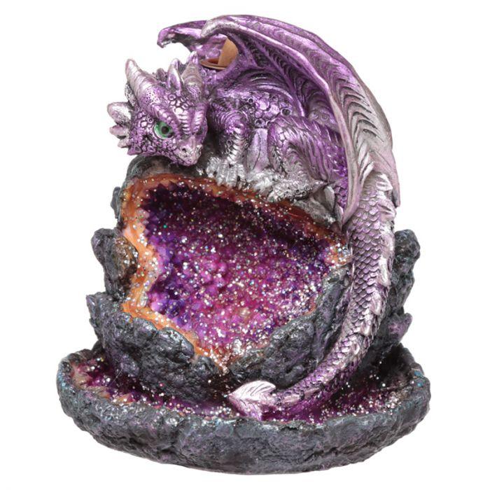Kristallgrotta babydrake, Backflow Rökelsebrännare