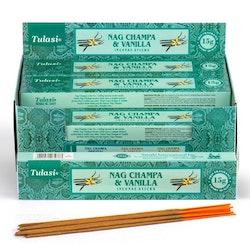 Vanilla Nag Champa, rökelse, Tulasi