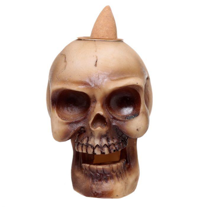 Skull liten Brun, Backflow Rökelsebrännare