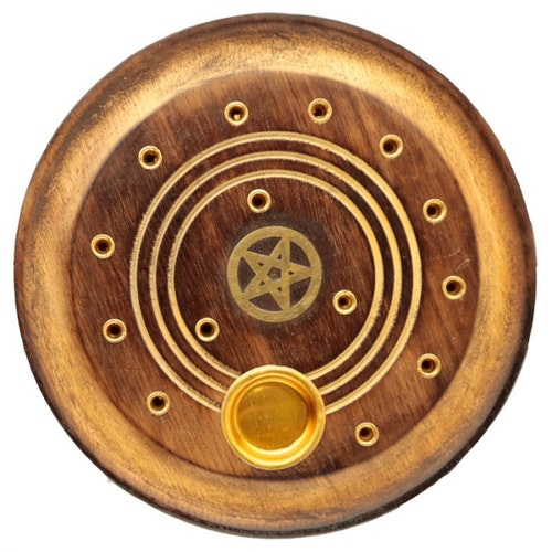 Pentagram mango, Asksamlare rund