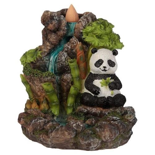 Bamboo Panda Vattenfall, Backflow Rökelsebrännare