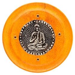 Mangoträ med Buddha Orange, Asksamlare rund
