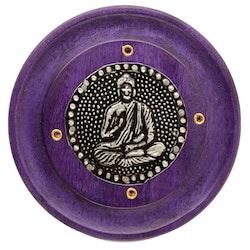 Mangoträ med Buddha Lila, Asksamlare rund