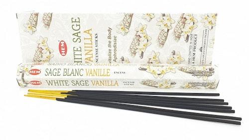 White Sage Vanilla, rökelse, HEM