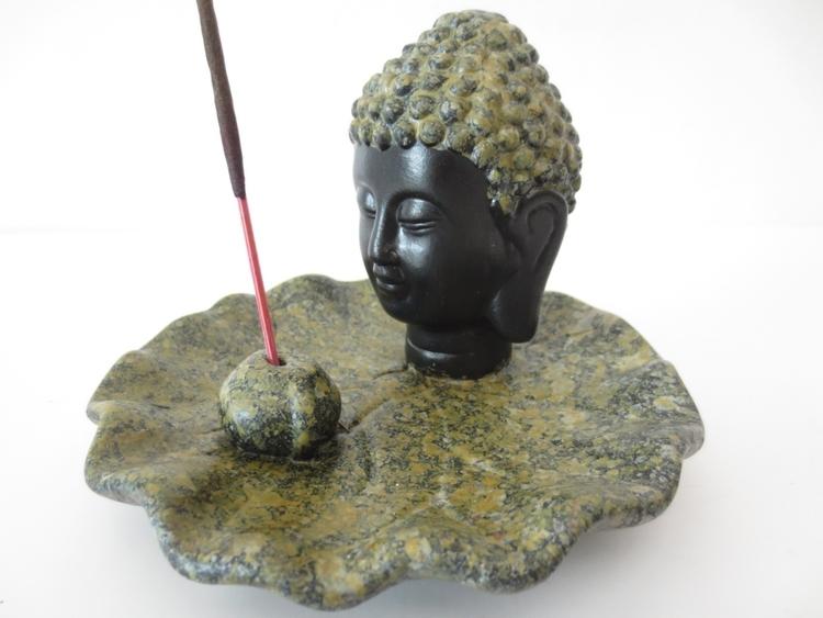 Buddha brun Rökelsehållare