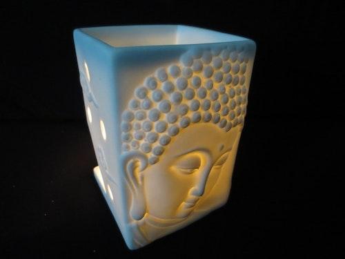 White buddha meditation lux, Aromalampa