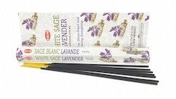 White Sage Lavender, rökelse, HEM