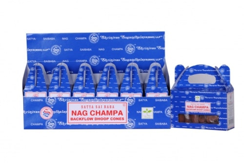 Nag Champa Backflow rökelser, Satya