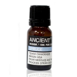 Gran, Spruce, Eterisk Olja, Ancient Wisdom, 10ml