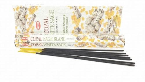 Copal White Sage rökelse, HEM