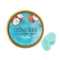 Coconut Beach Eco Soy Wax Melts, Vaxkakor