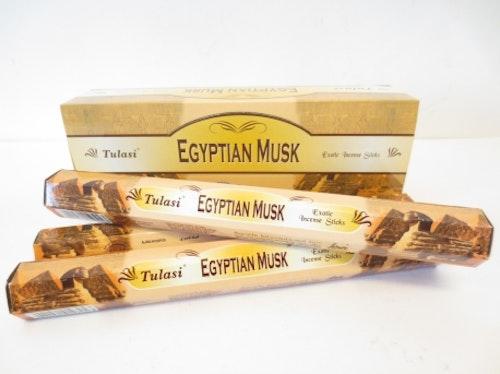 Egyptian Musk, rökelse, Tulasi
