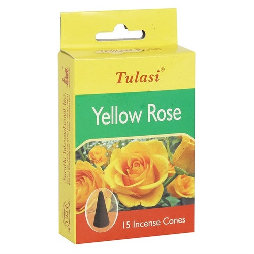 Yellow Rose, rökelsekoner, Tulasi