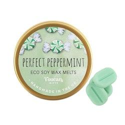 Perfect Peppermint Eco Soy Wax Melts, Vaxkakor