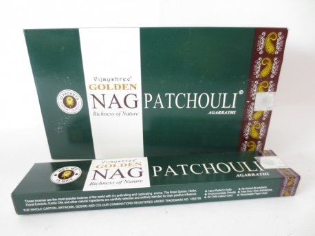 Patchouli, Rökelse, Golden Nag
