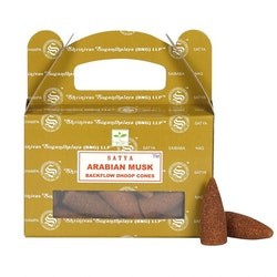 Arabian Musk Backflow rökelser, Satya