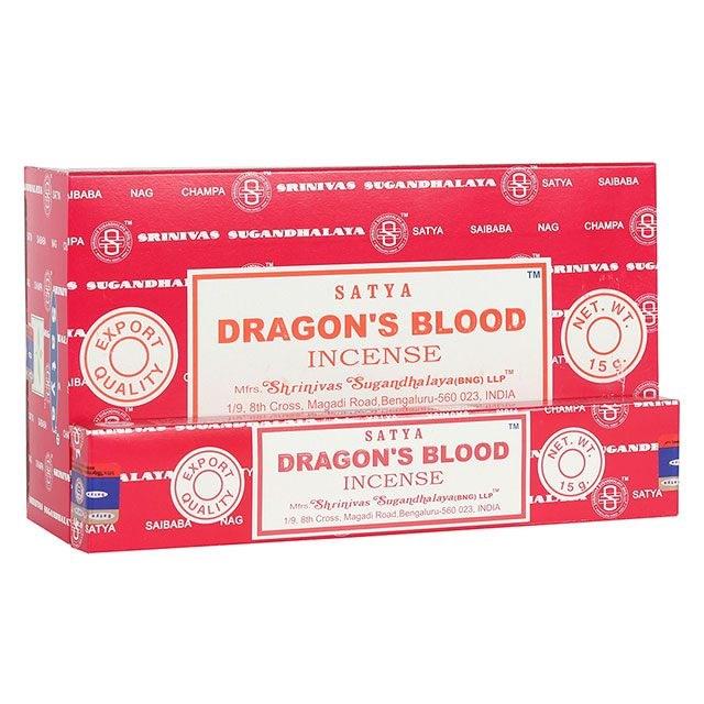 Dragon's Blood, rökelse, Satya