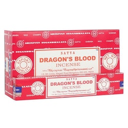 Dragon's Blood, rökelse, Satya