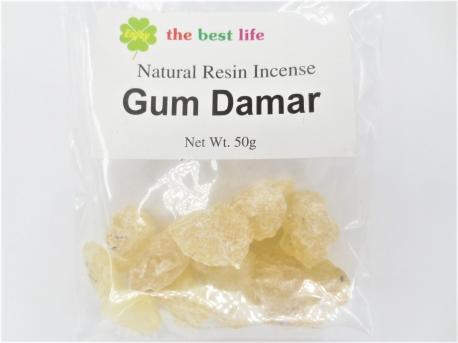 Gum Damar Resin, 50g