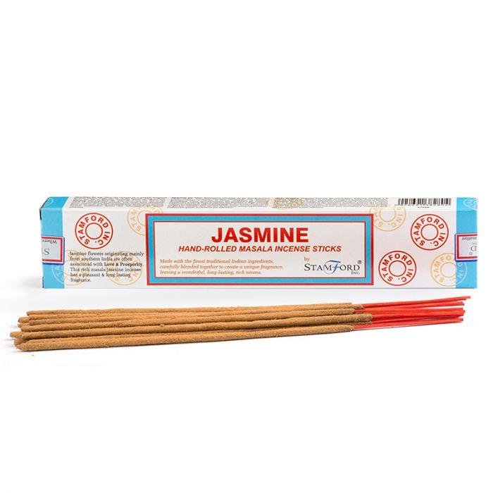 Jasmin, rökelse, Stamford Masala