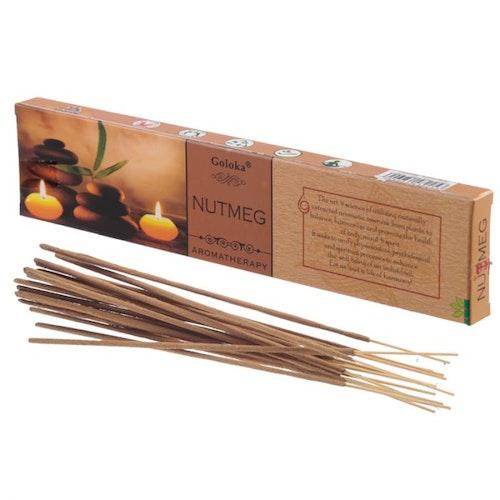 Nutmeg, Muskot, Aromatherapi 15g, Goloka rökelse
