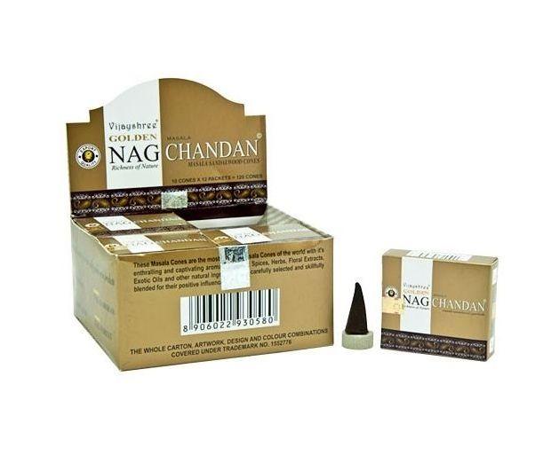 Chandan, Rökelsekoner, Golden Nag