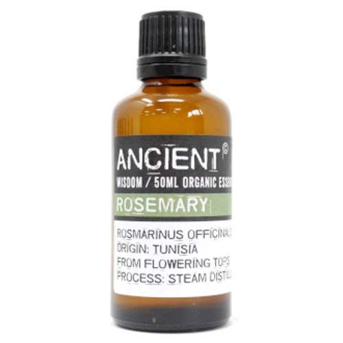 Rosmarin Organic, Rosemary, Eterisk Olja, Ancient Wisdom, 50ml