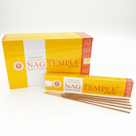 Temple, Rökelse, Golden Nag