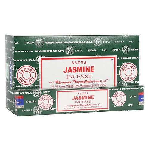 Jasmine, Rökelse, Satya