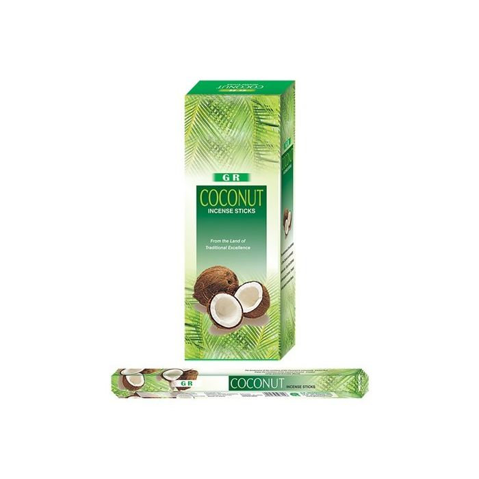 Coconut, rökelse, G.R Incense
