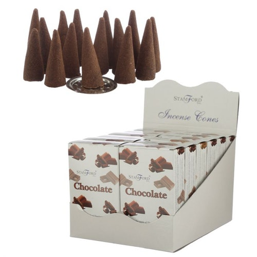 Chocolate, rökelsekoner, Stamford