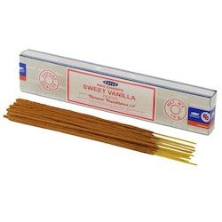 Sweet Vanilla, rökelse 15 g, Satya