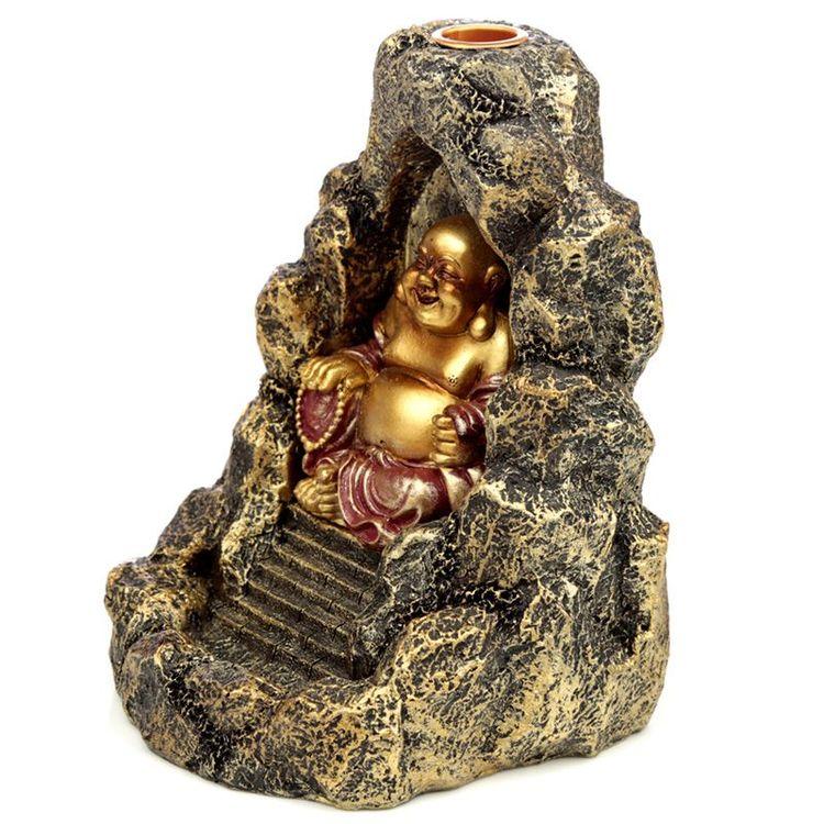Kinesisk Buddha, Backflow Rökelsebrännare