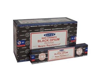 Black Opium, rökelse 15 g, Satya