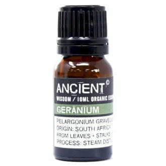Geranium Organic Eterisk Olja, Ancient Wisdom, 10ml