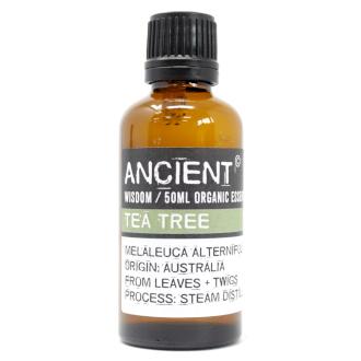 Tea Tree Organic Eterisk Olja, Ancient Wisdom, 50ml