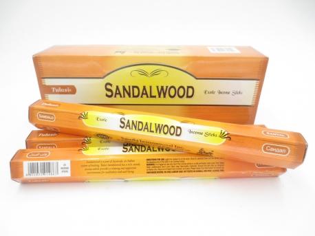 Sandalwood, rökelse, Tulasi