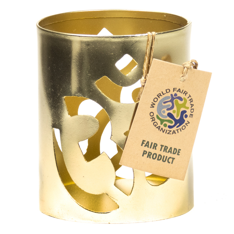 Ohm Ljushållare Fair Trade, Metall