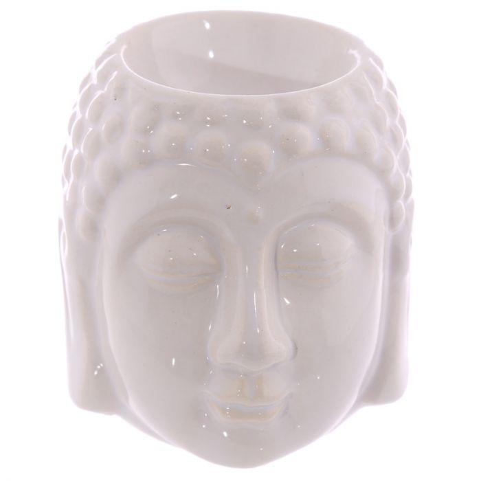 Buddha vit keramik, Aromalampa