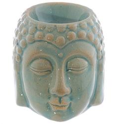 Buddha turkos keramik, Aromalampa