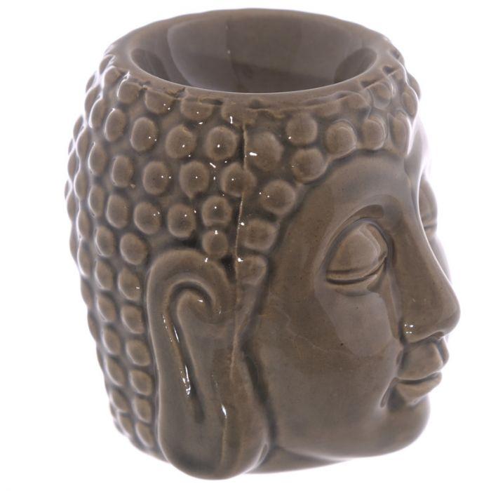 Buddha brun keramik, Aromalampa