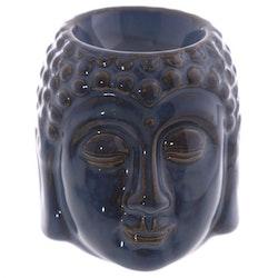 Buddha blå keramik, Aromalampa