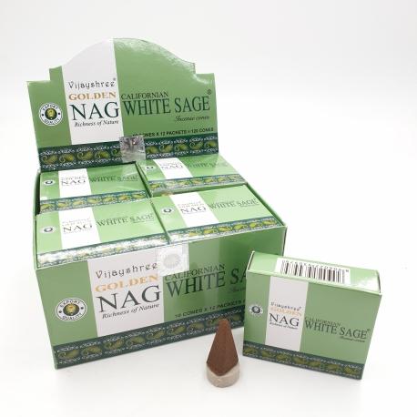 White Sage, Rökelsekoner, Golden Nag