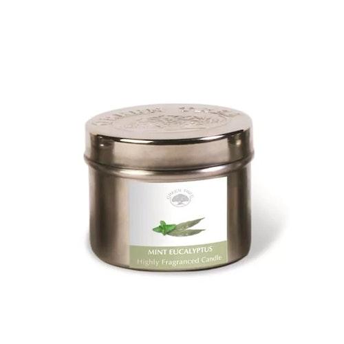 Mint Eucalyptus 150g Doftljus, Green Tree