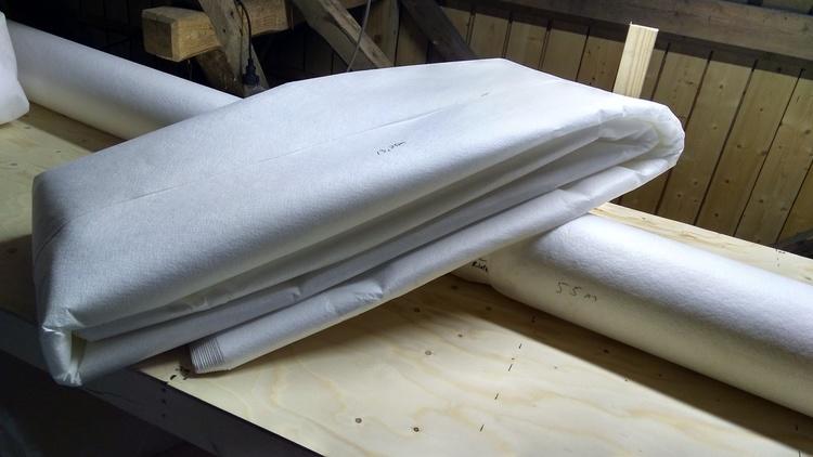 Markduk N2, Mått  5x55m (275kvm) (SKICKAS EJ)