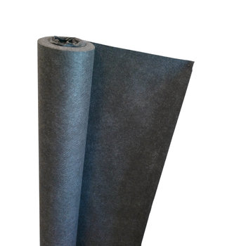 Nyhet! Svart markduk N2, Mått  2.5x20m (50kvm)