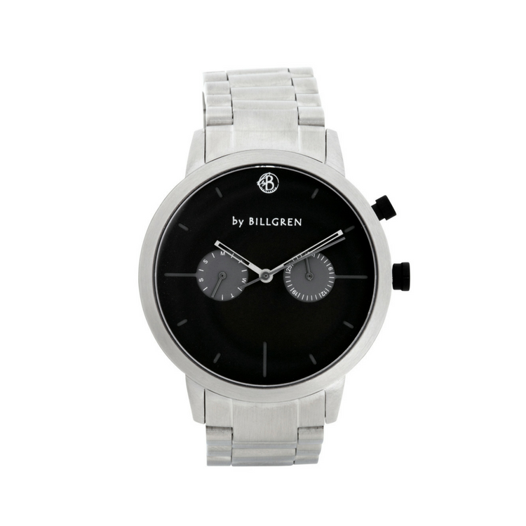 Malcolm Watch, white/steel