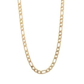 Halsband, figarokedja, guld